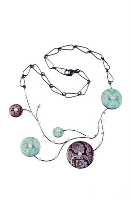 She Said Yes Necklace. Patsy Kay Kolesar Design