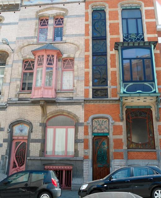 Brussels, Belgium Art Nouveau Architecture