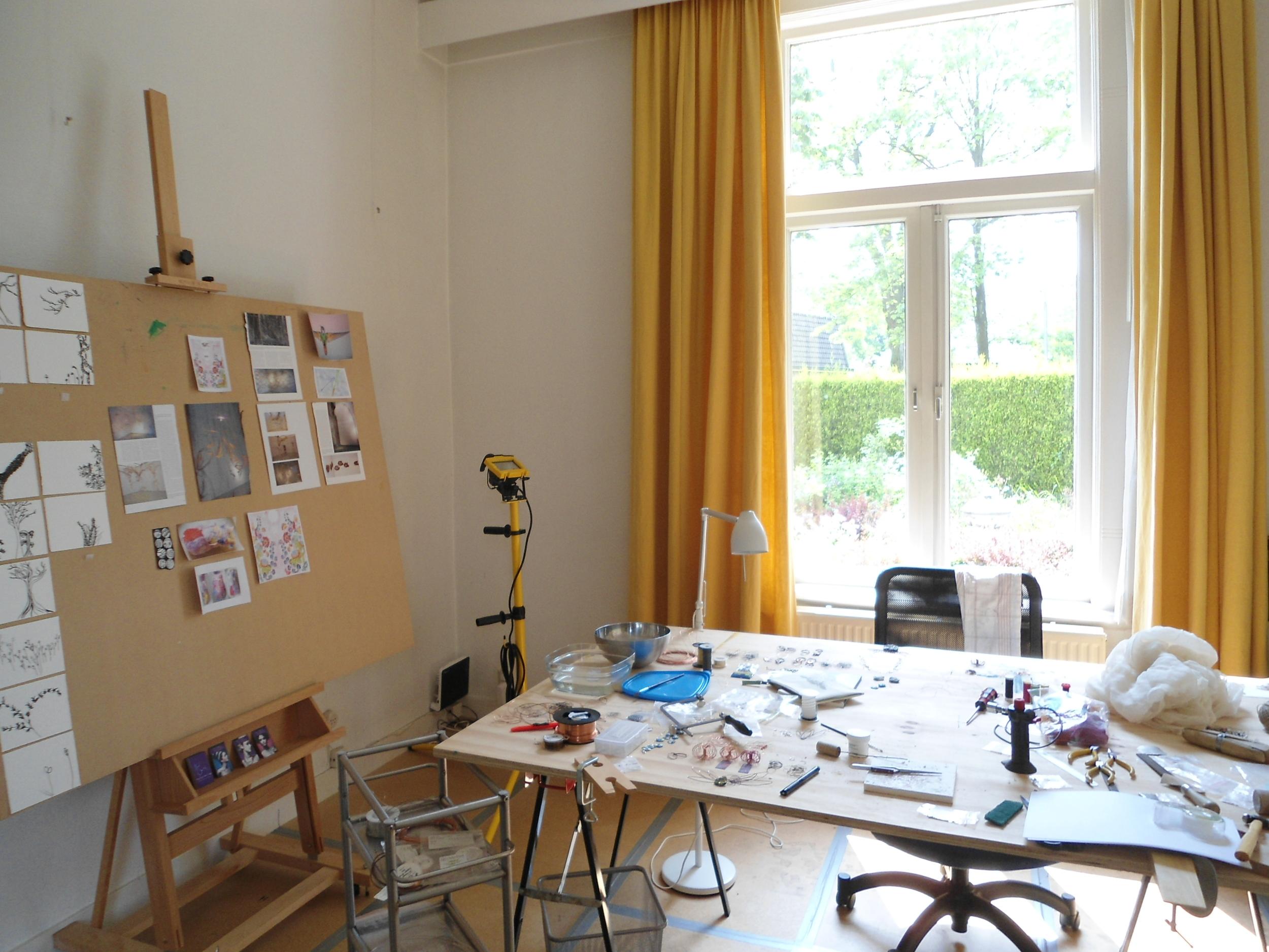My workbench, Renkum, Holland