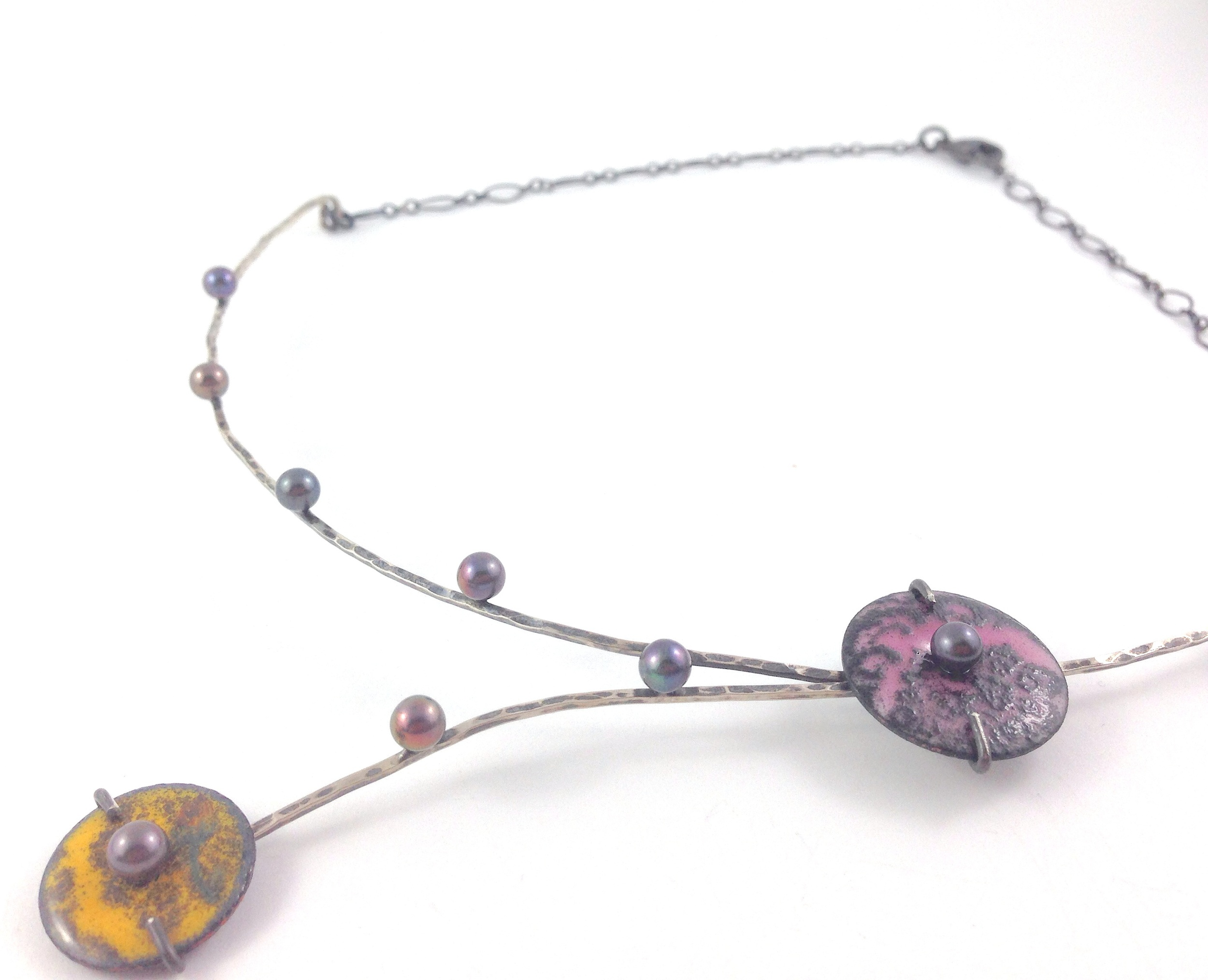 Cherry Blossom Necklace © Patsy Kay Kolesar Design