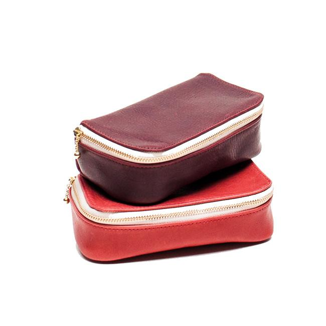 Leather Make Up Bag from Erin Templeton