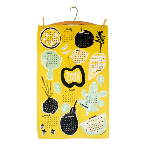 2018 Calendar Tea Towel from Keephouse
