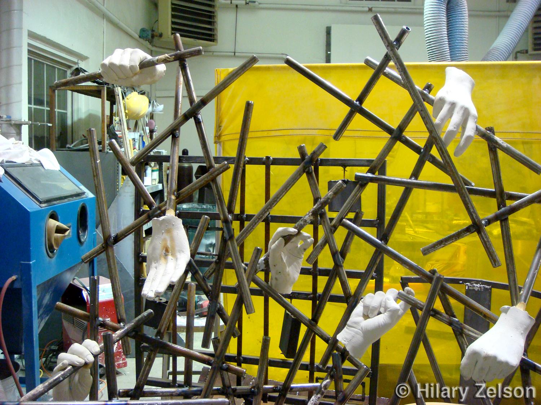 Caged (close up)