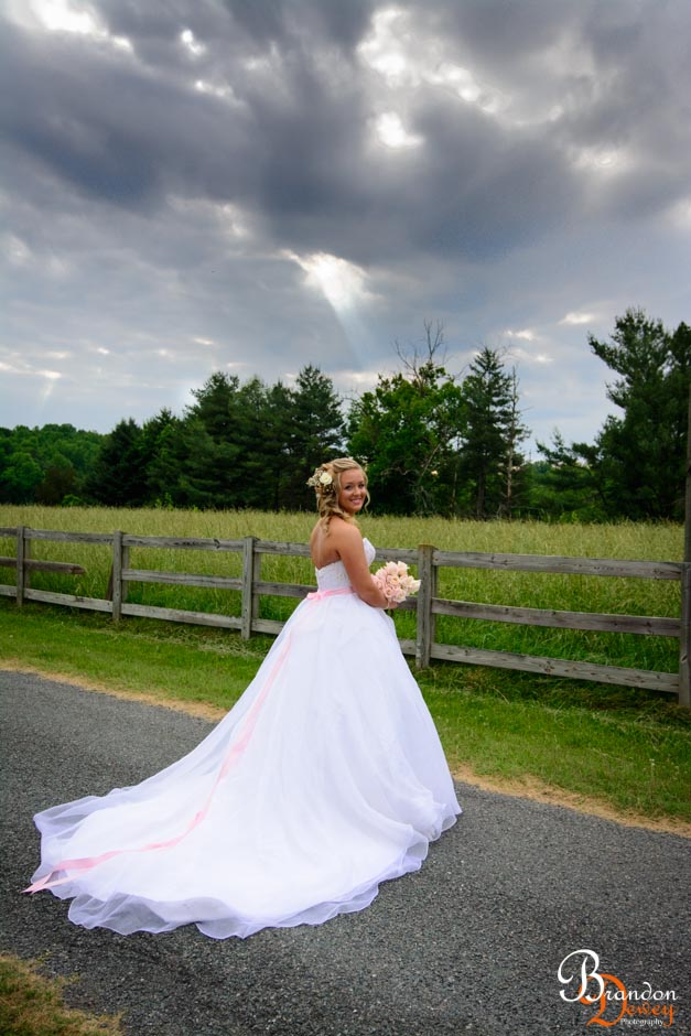 Kendell's Bridal Picture. Goochland, VA.  Link to Photo