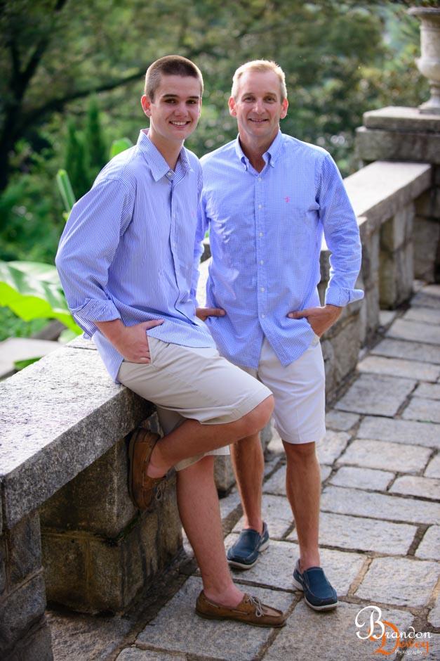 Stephan and Scott, Family Photo. Richmond, VA.  Link to Photo