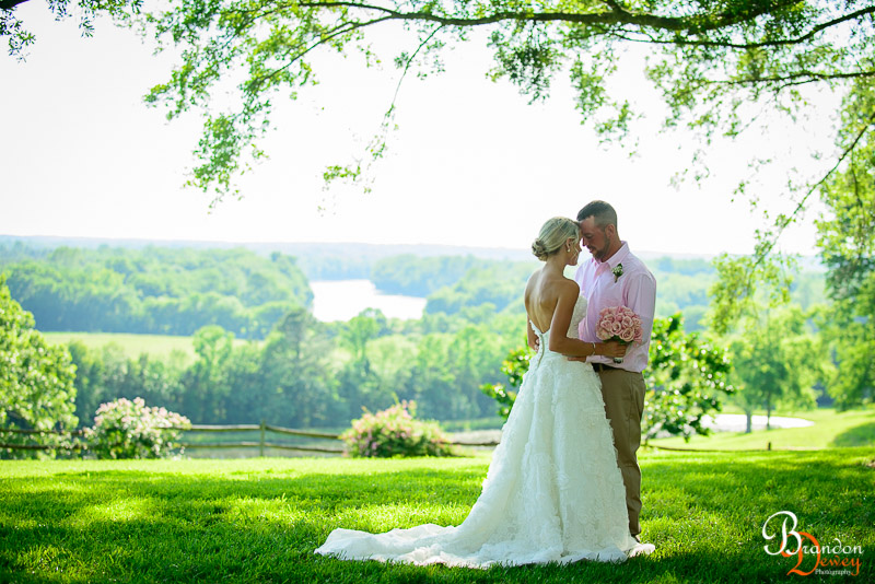 Kenny and Jessie's Wedding. Goochland, VA.  Link to Photo
