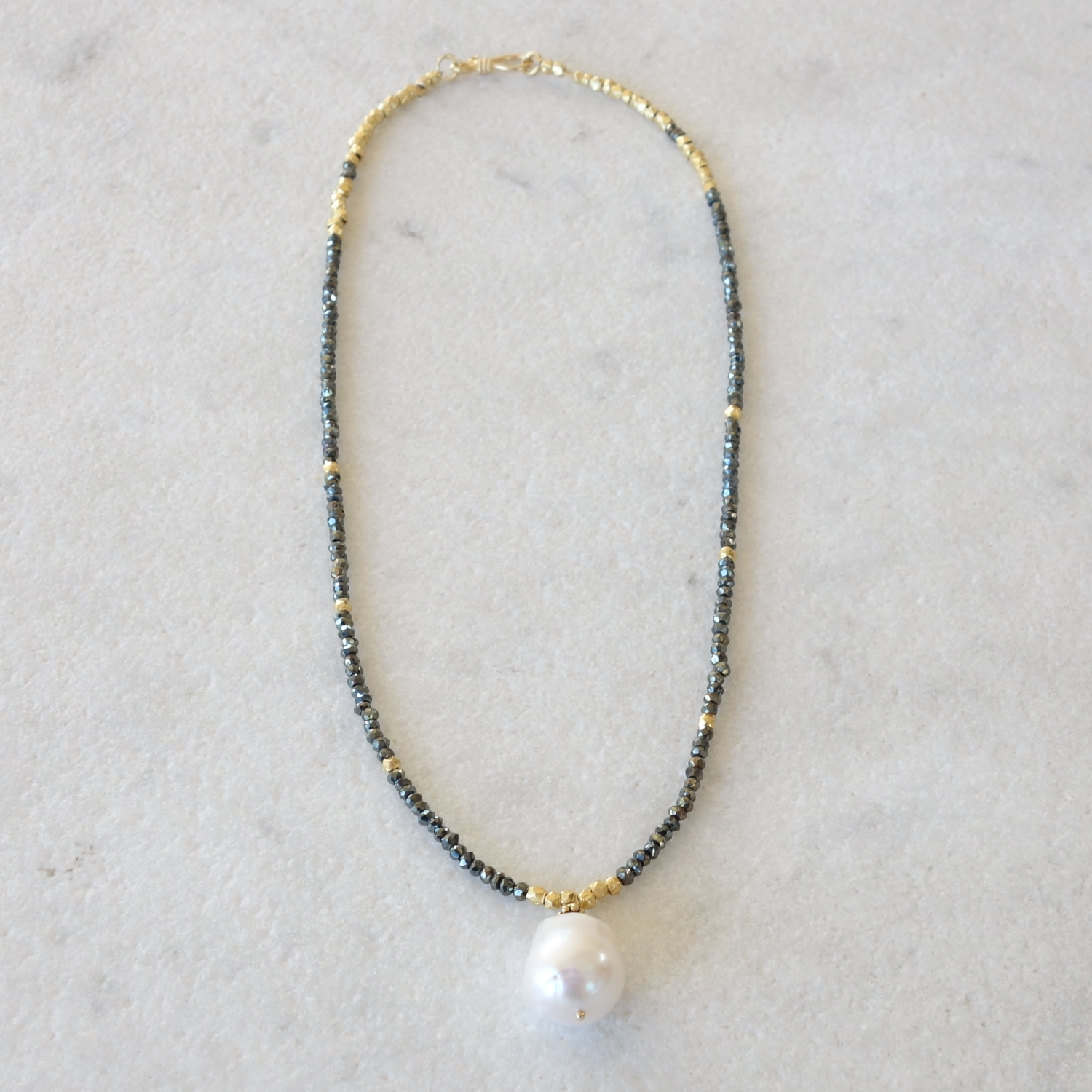 Baroque Freshwater Pearl Necklace