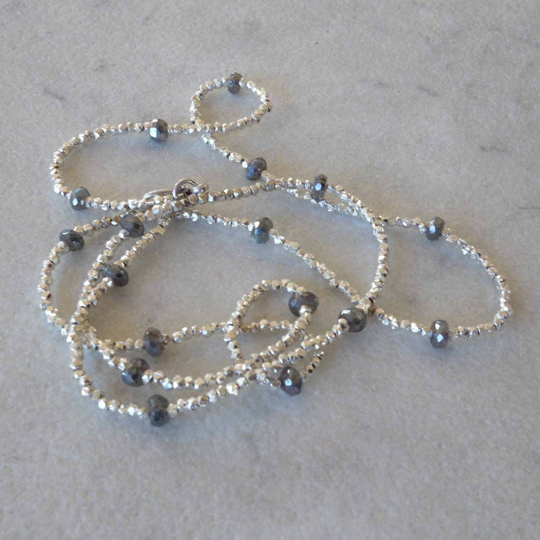 Labradorite Necklace or Bracelet