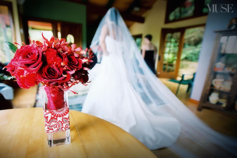 MUSE Bride - Akemi & Kevin Wedding, Hanalei Wedding