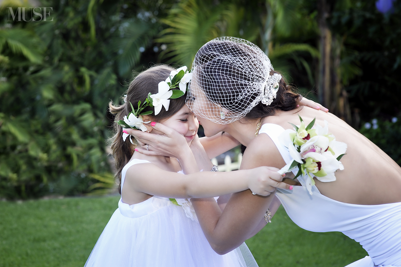 MUSE Bride - Ala & Jay Wedding, Maleana Gardens Oahu