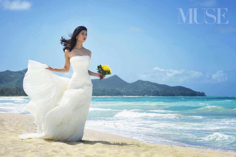MUSE Bride Editorial Waimanalo