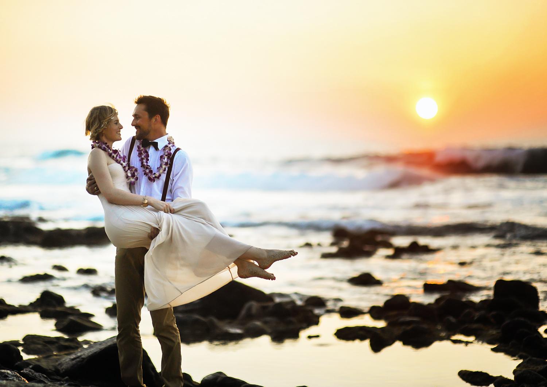 Alohilani Weddings Elopement Kohanaiki