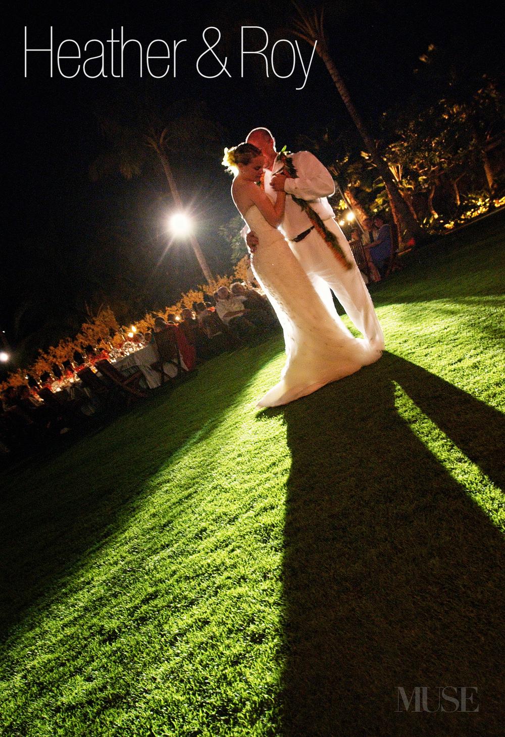 MUSE Bride - Kikaua Point Wedding