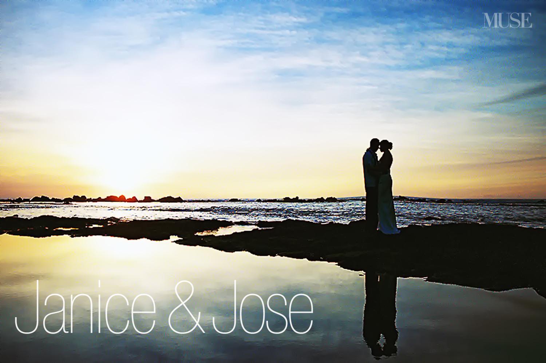MUSE Bride - South Kona Wedding Sunset
