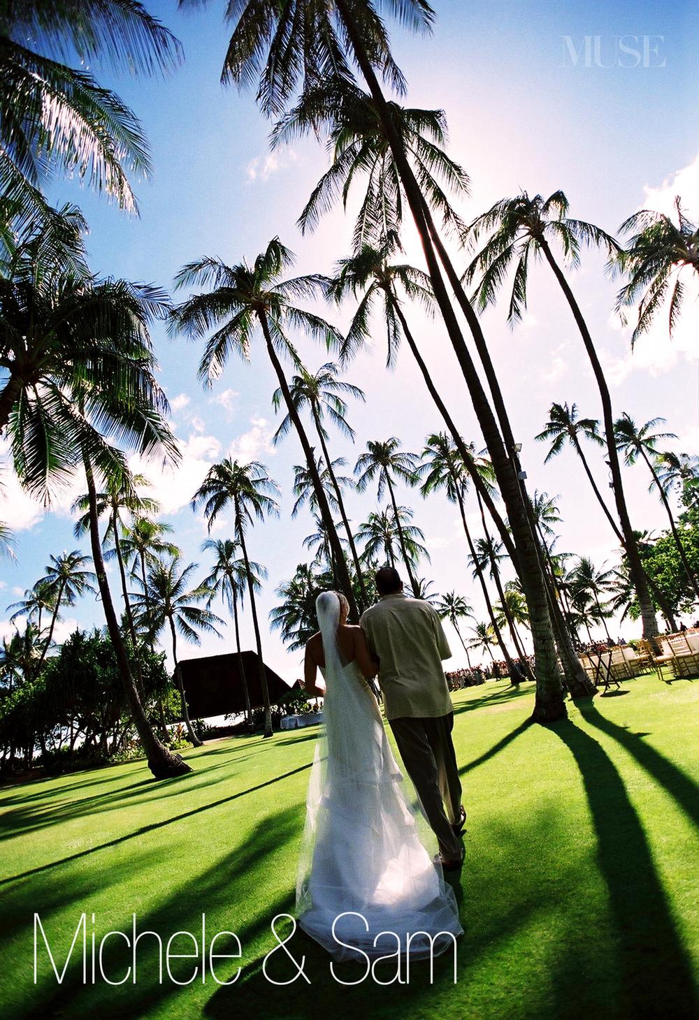 MUSE Bride - Lanikuhonua Oahu Wedding