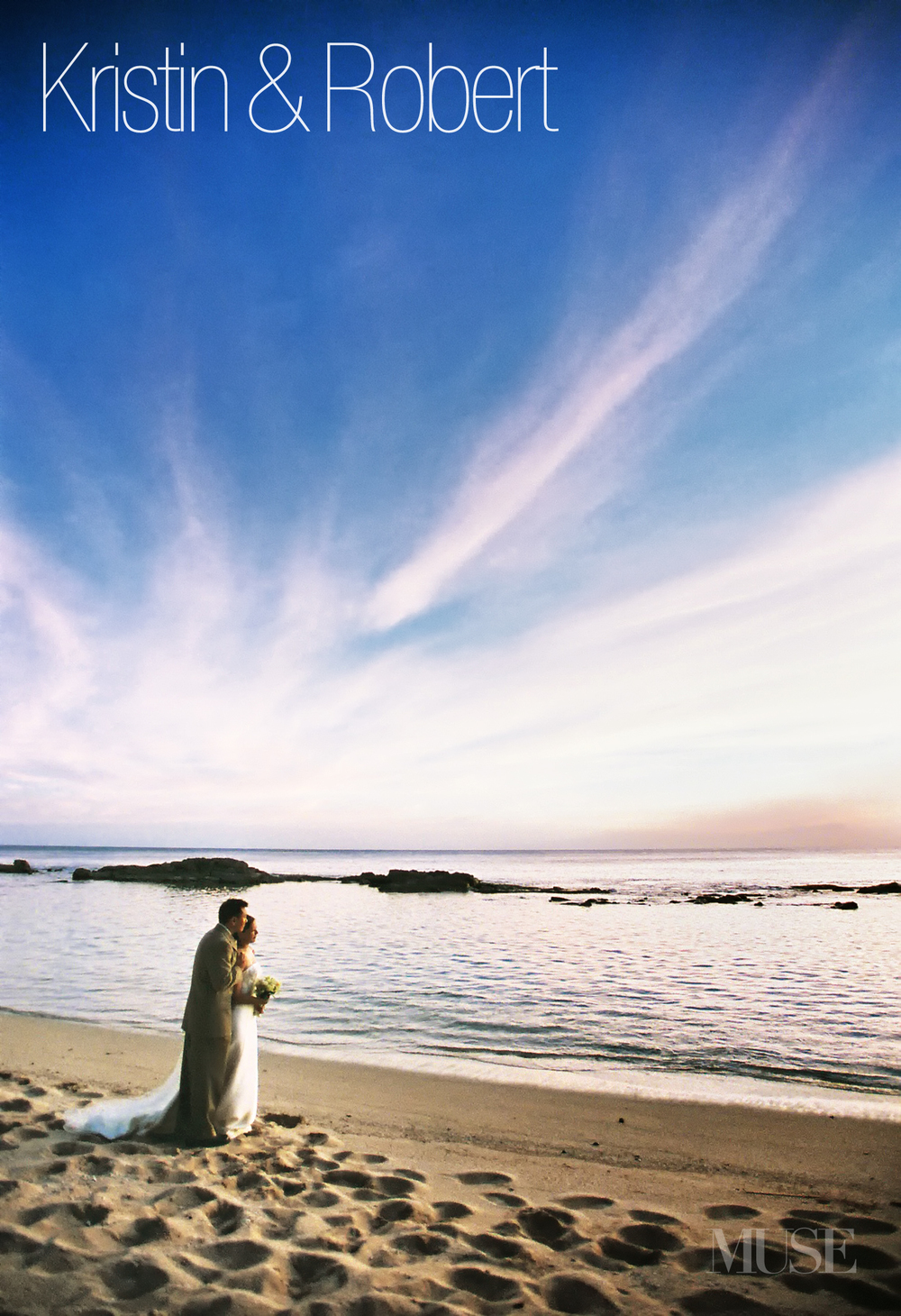 MUSE Bride - Lanikuhonua Sunset