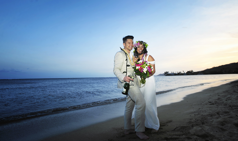Alohilani Weddings - Paiko