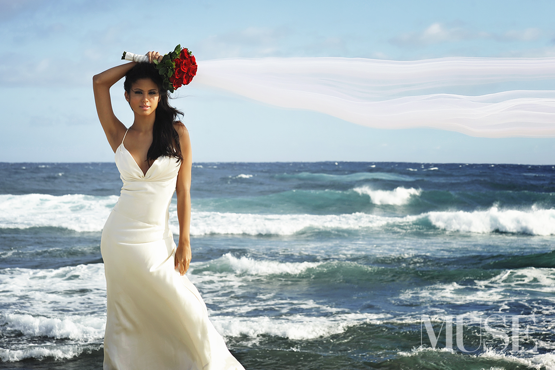 MUSE Bride - Moani Kaiwi Coast