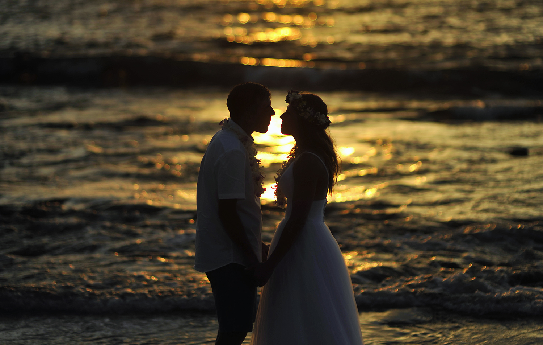 Alohilani Weddings - Kukio Sunset