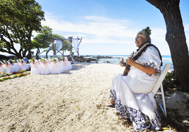 Alohilani Weddings - Aunty Tutu