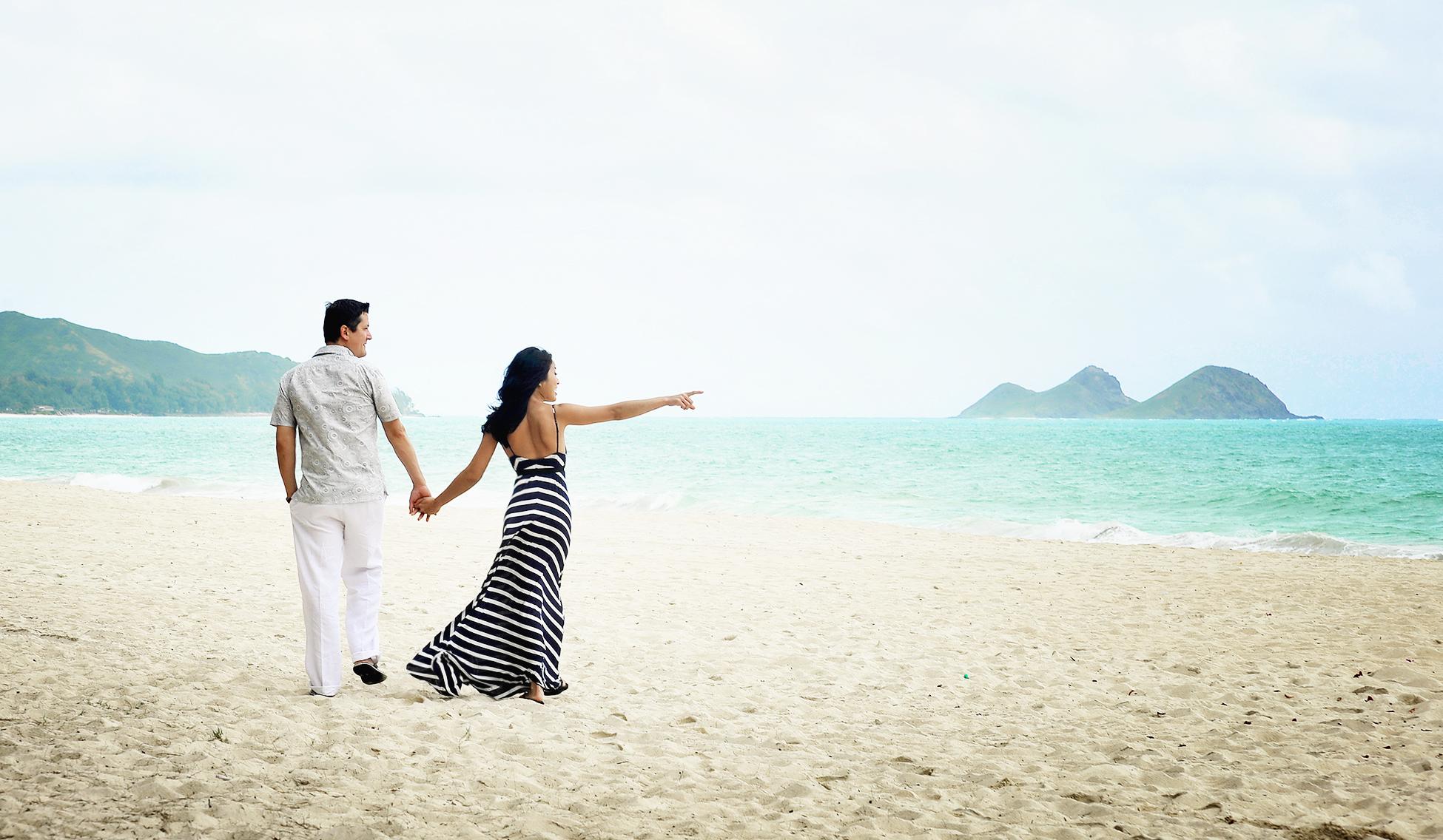 MUSE Bride - Phung & Kevin Wedding, Waimanalo Bay