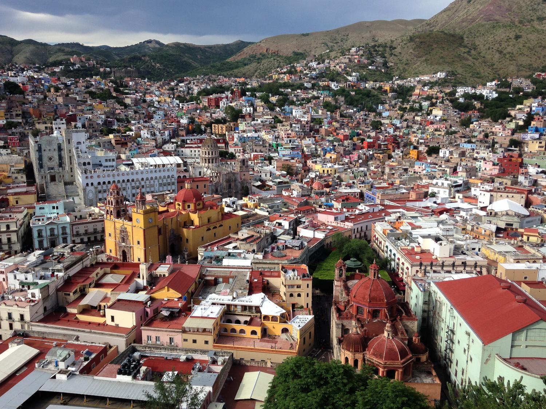 Guanajuato Capital from el Pípila