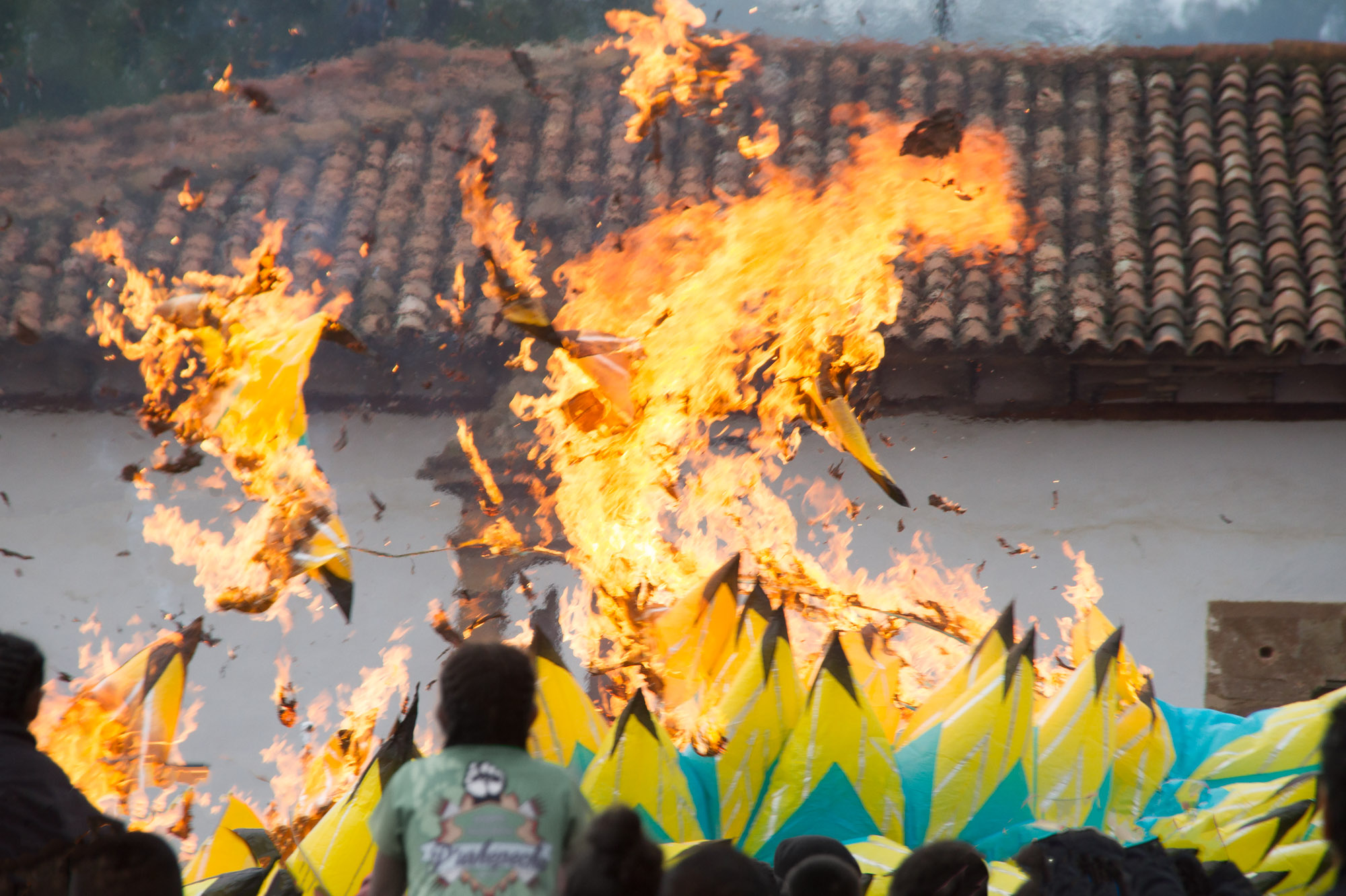 Flaming Porcupine   CantoyaFest: Pátzcuaro, Michoacán, Mexico — Sunday, July 23, 2017