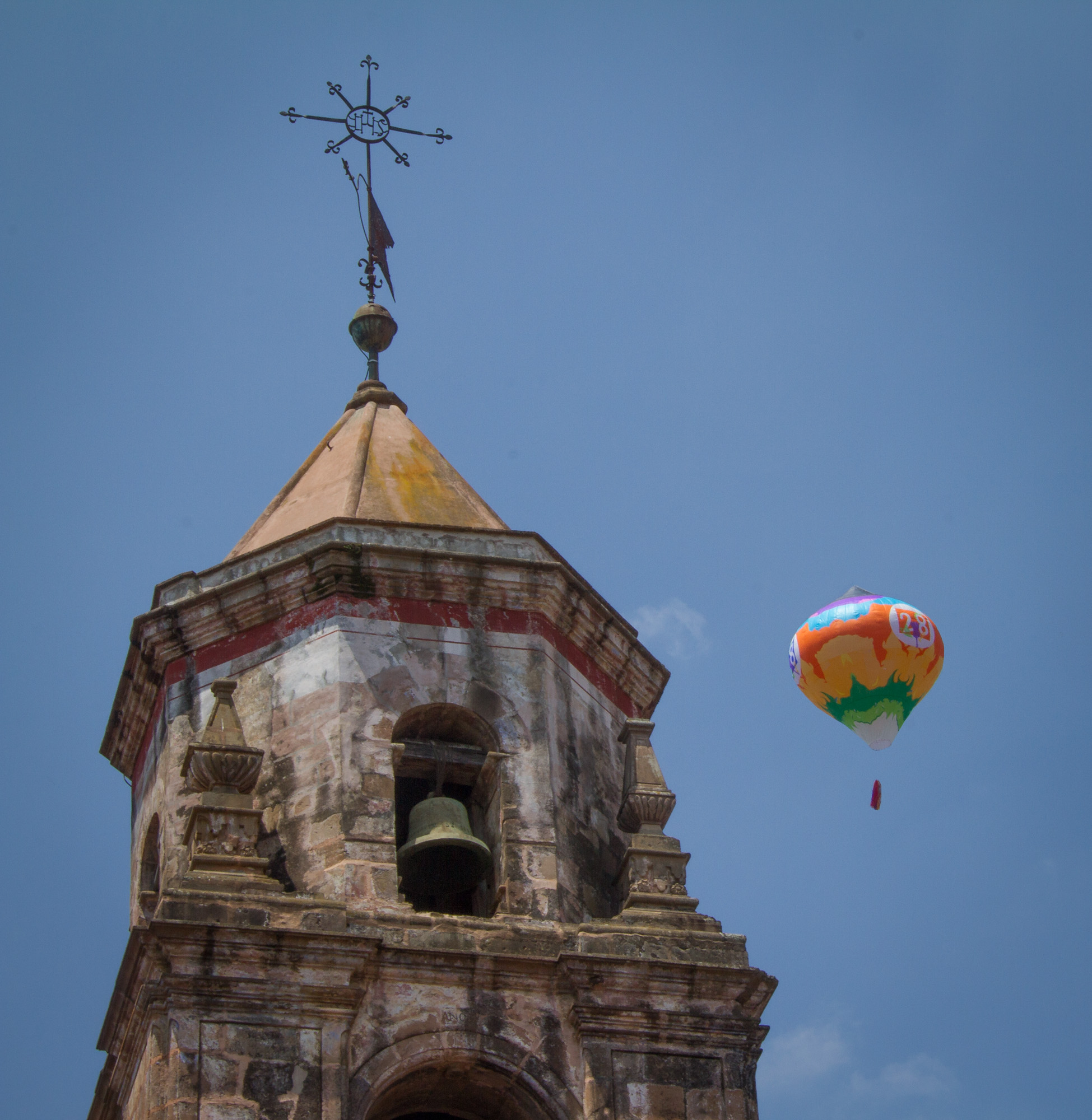 Balloons in the Belfry   CantoyaFest: Pátzcuaro, Michoacán, Mexico — Saturday, July 22, 2017