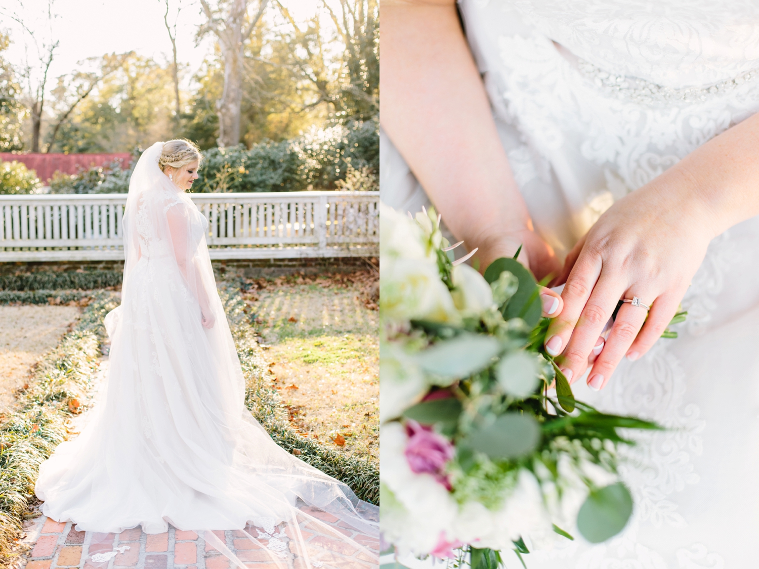 lindsey a miller photography-poplar grove bridal session-wilmington nc