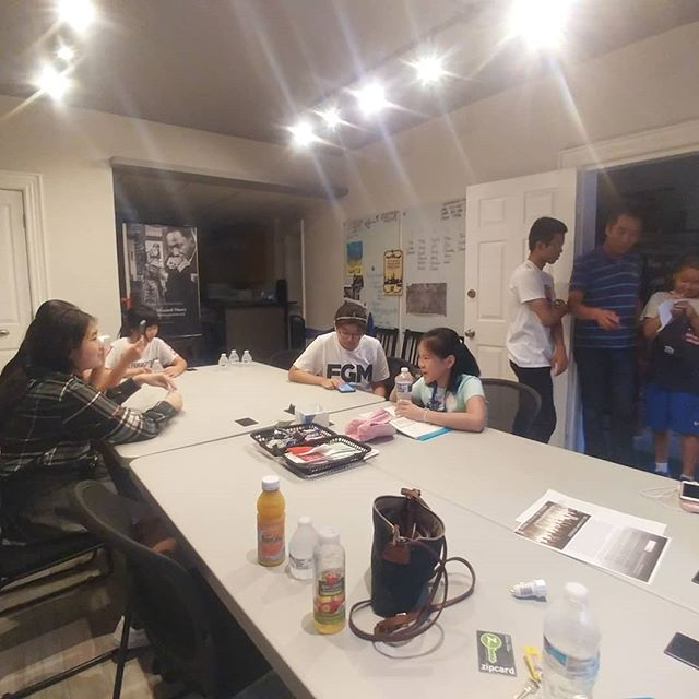 8-7-19 / Screen printing workshop with Soul and Ink in Silver Spring, MD!