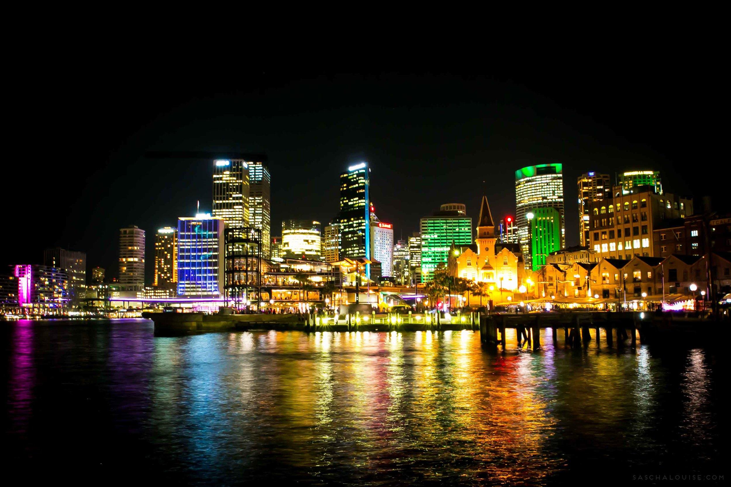 Vivid Sydney - The Rocks