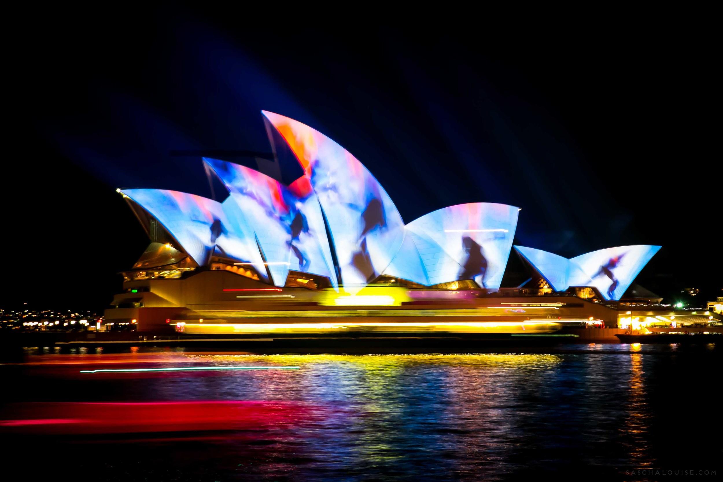 Vivid Sydney - Ferries