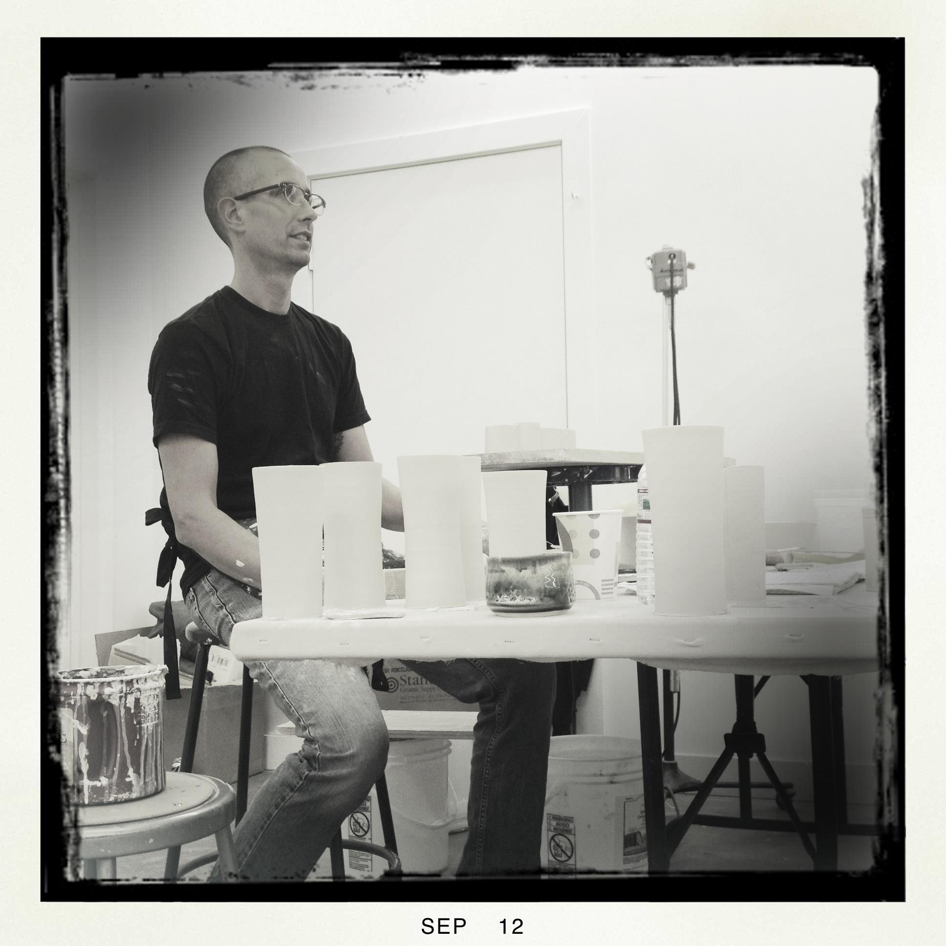 Bryan Hopkins presenting at UC 6