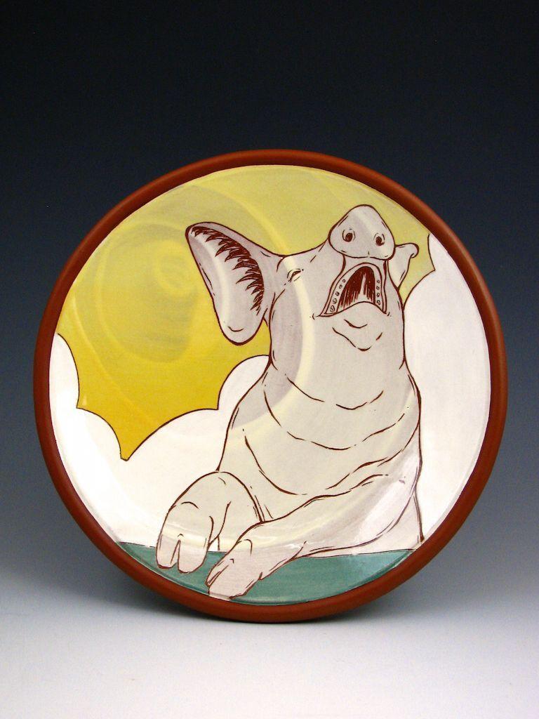Sunrise Pig Plate