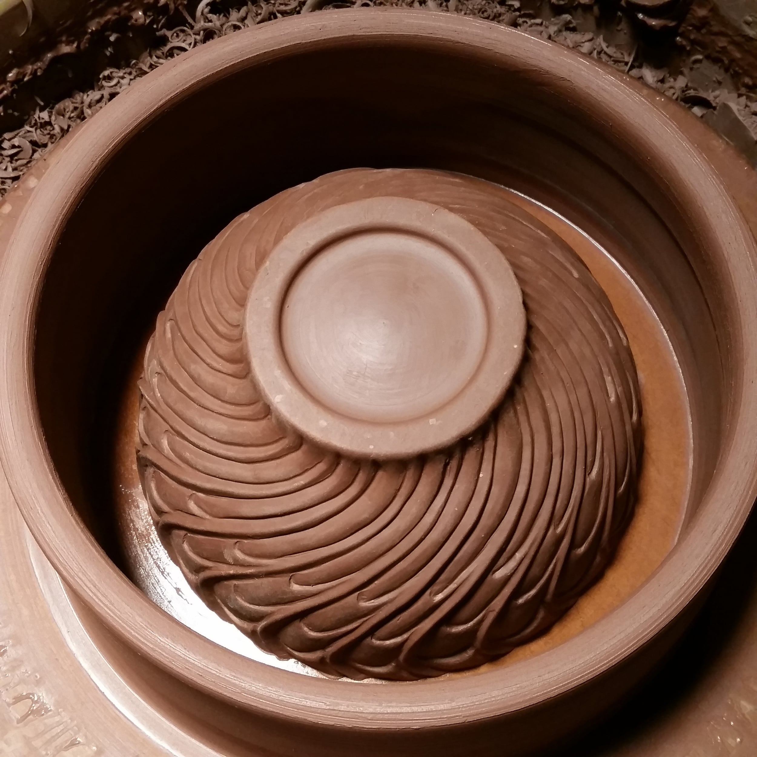 Throwing Molds on the Wheel — objective clay