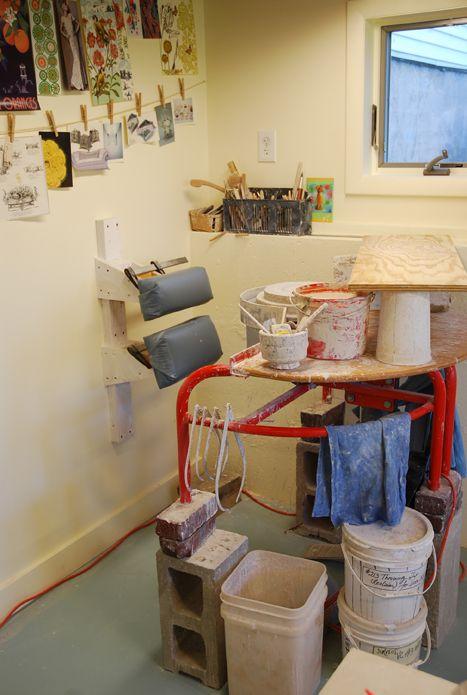 Kristen Kieffer's Studio