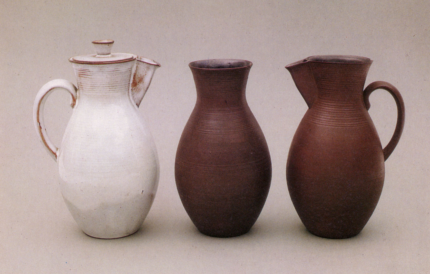 Three Otto Lindig Vessels from the Bauhaus Museum, Berlin
