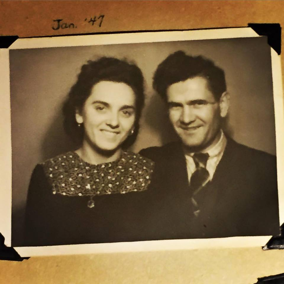 Deb's maternal grandparents