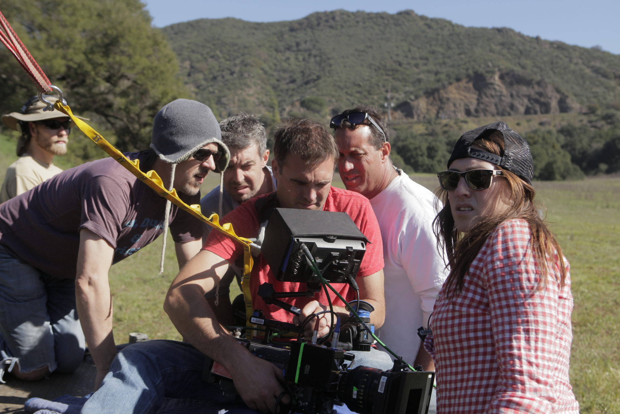 With the Camera Department on The Hungover Games