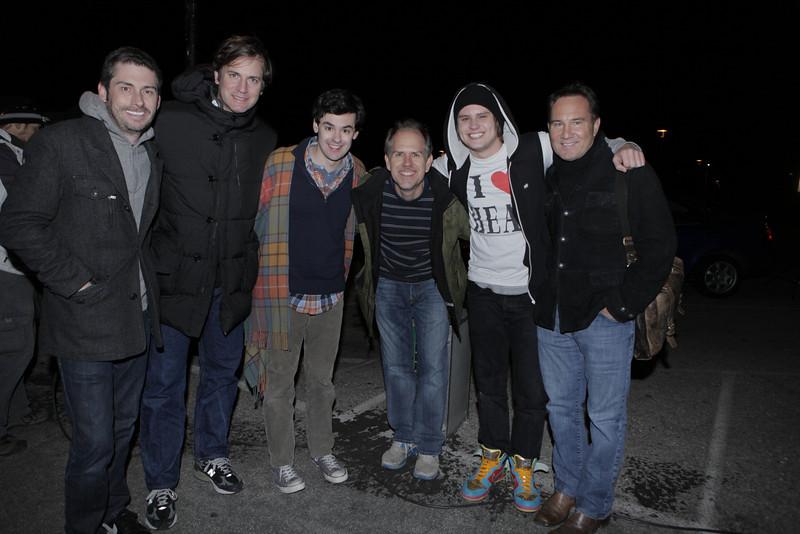 With Steven Yell, Mike Karz, Brendan Robinson, Matt Shively and Bill Bindley on Feels So Good