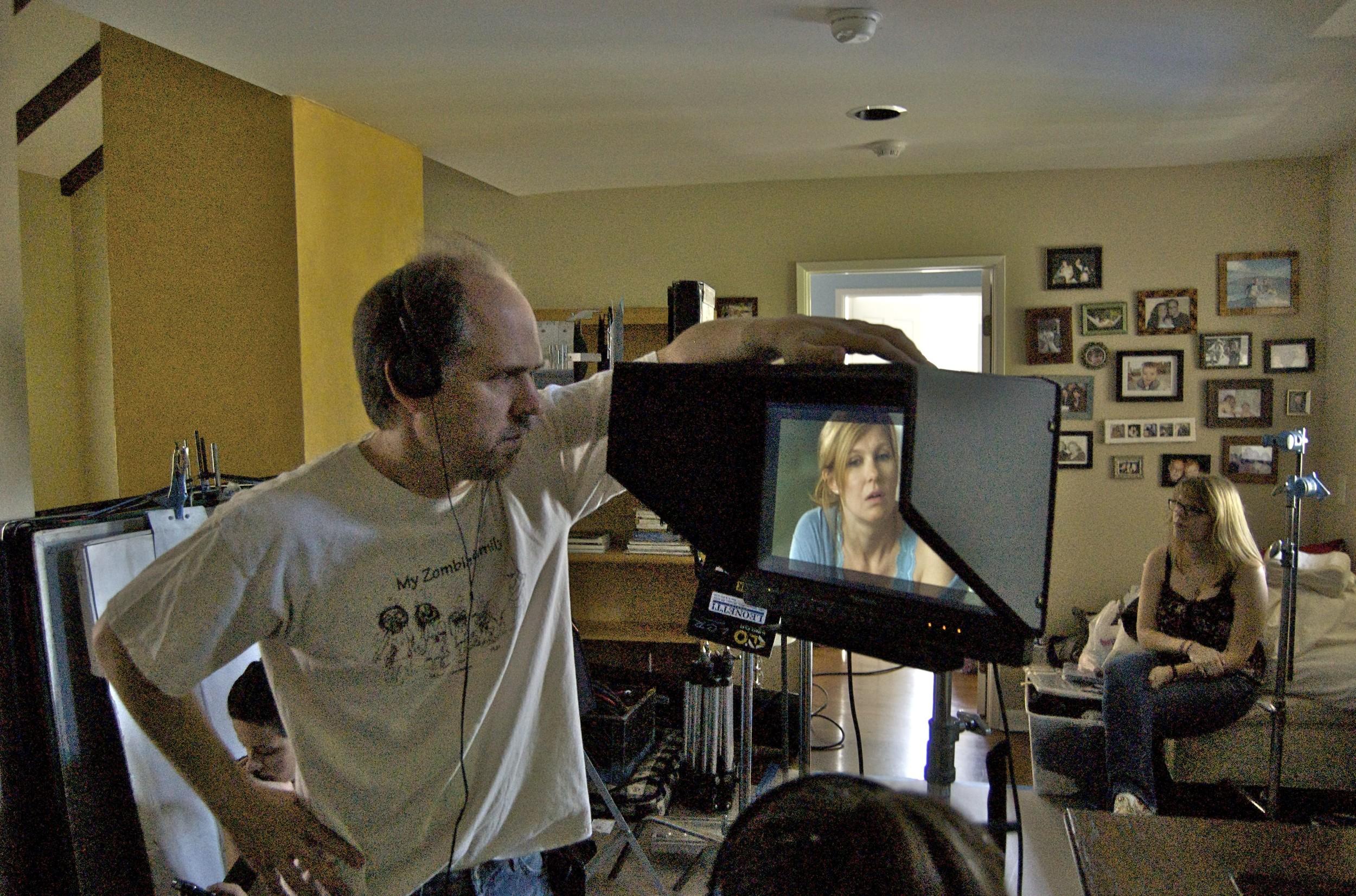 Directing Connie Britton on Conception