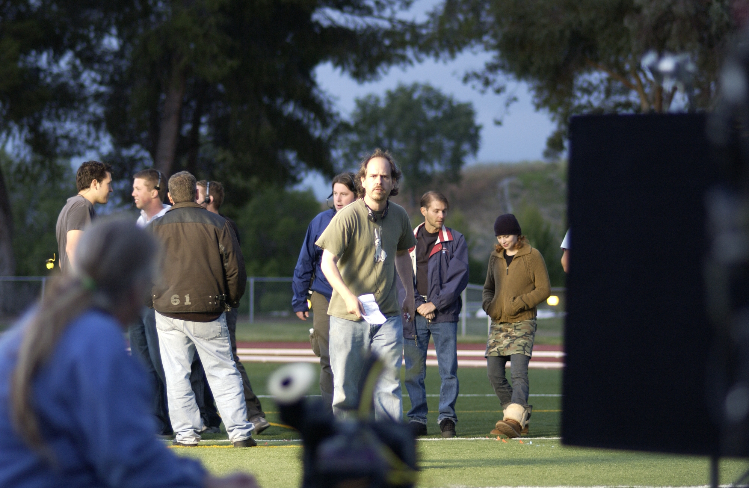 On the set of Kids in America