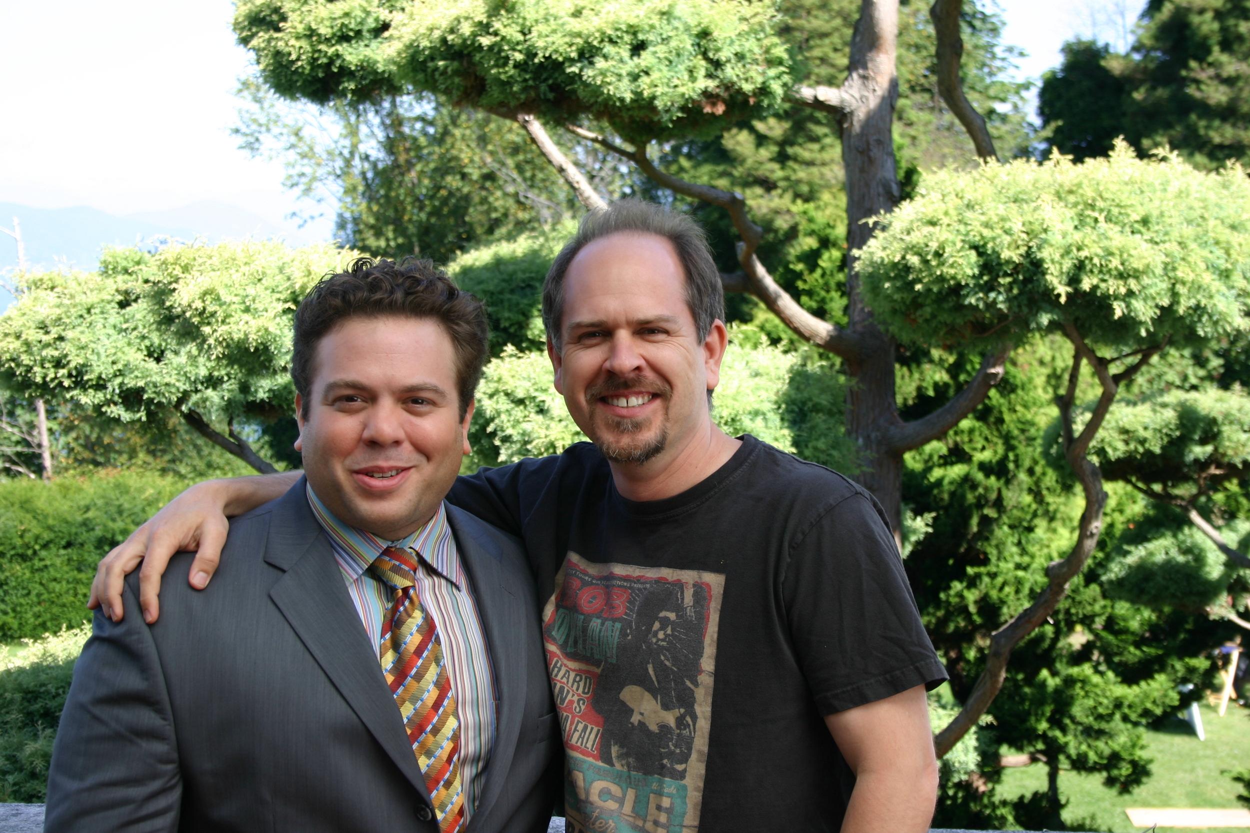 With Dan Fogler on Good Luck Chuck
