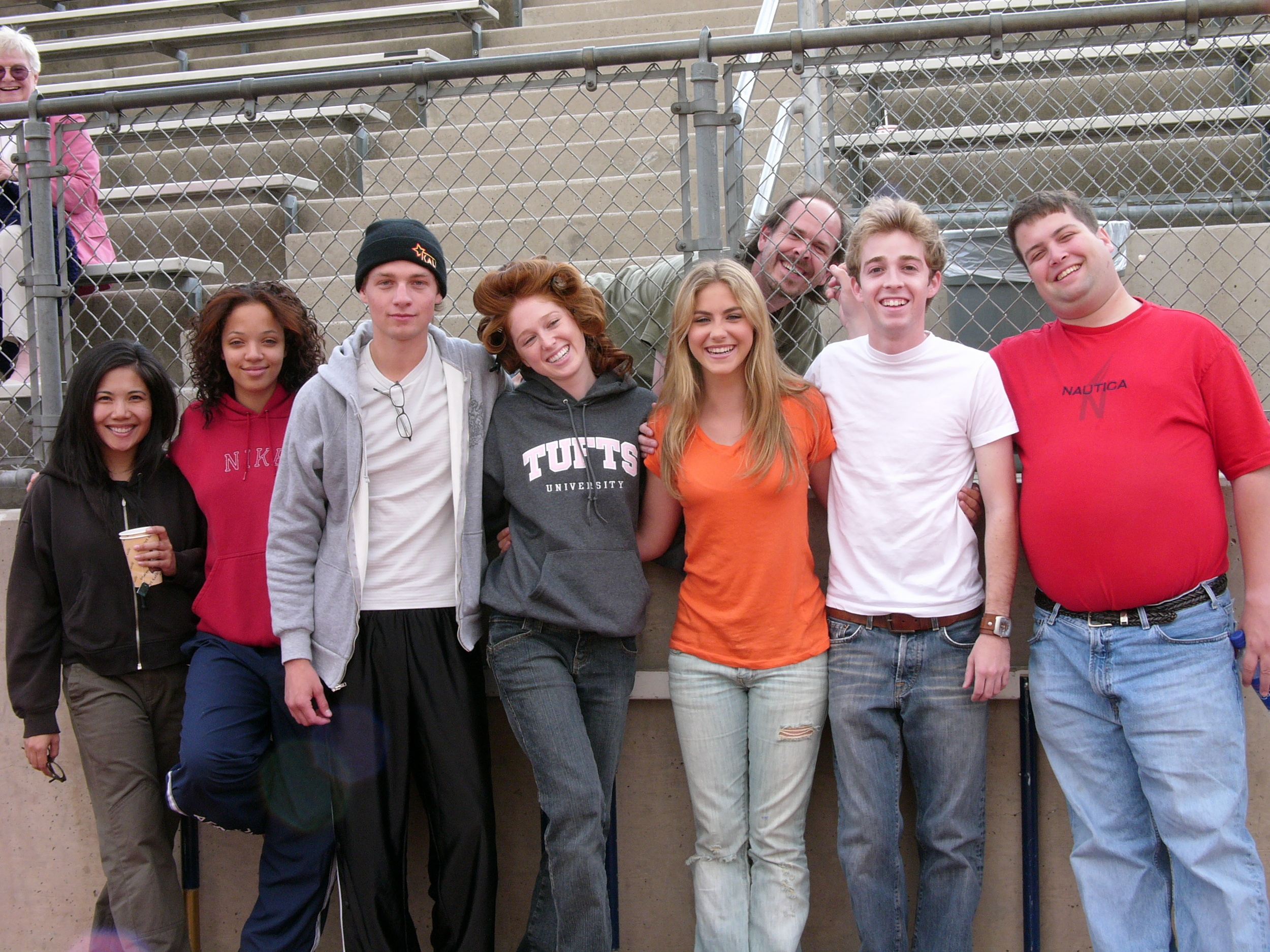 With Emy Coligado, Crystal Celeste Grant, Gregory Smith, Stephanie Sherrin, Caitlin Wachs, Alex Anfanger and Chris Morris on Kids in America
