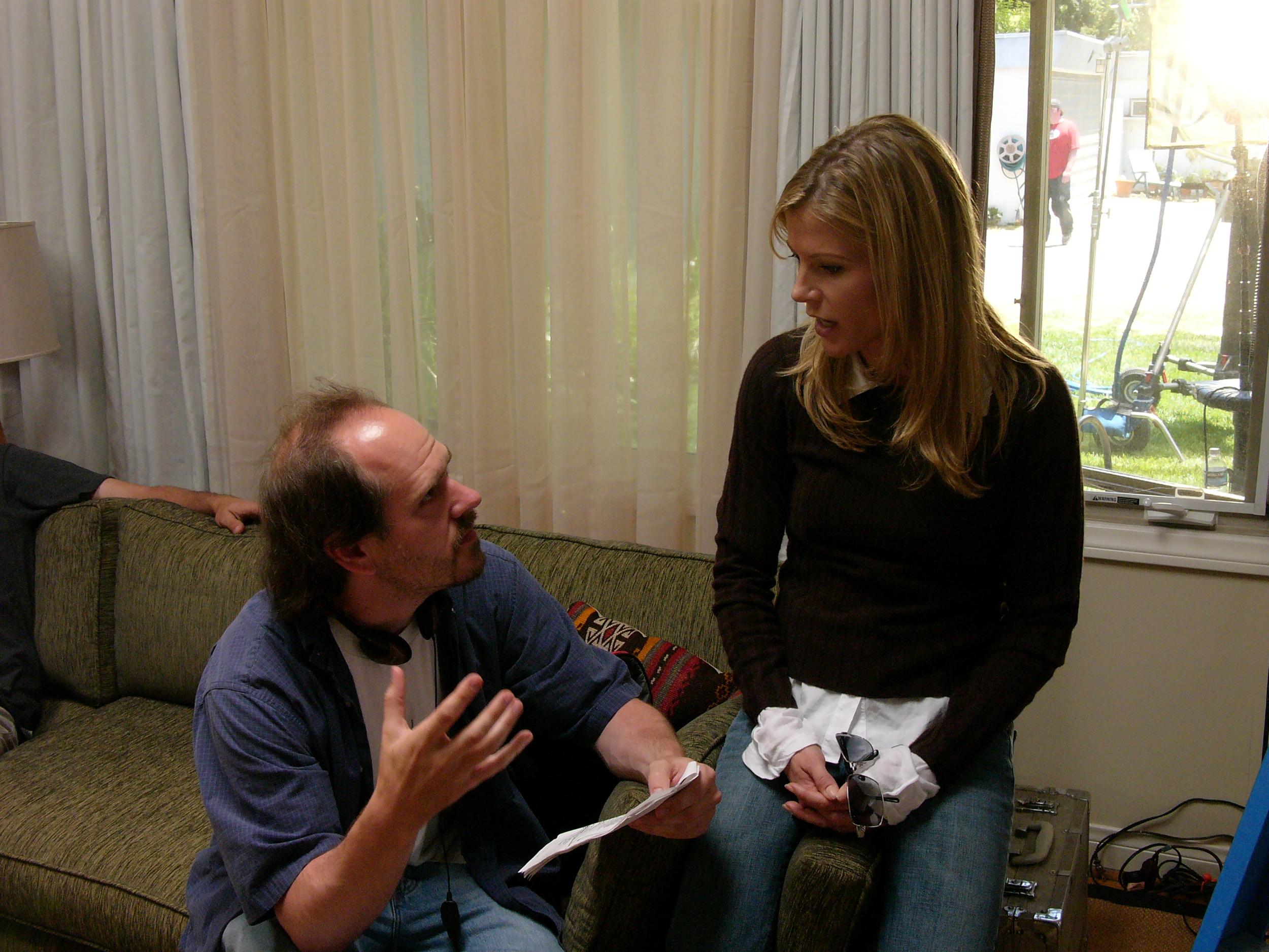 With Julie Bowen on Kids in America