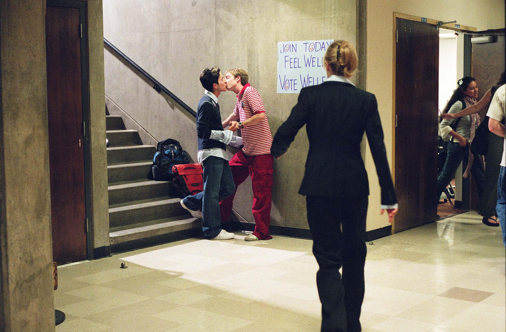 7. Boys kissing in hallway.jpg
