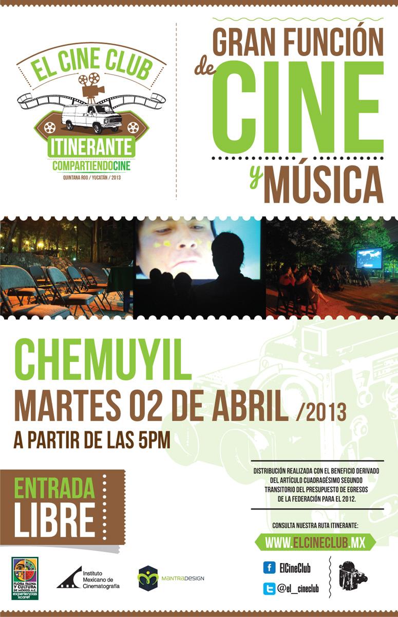 Cine Mexicano en Chemuyil