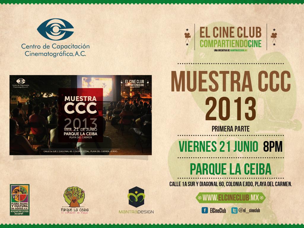Proyección Muestra CCC 2013