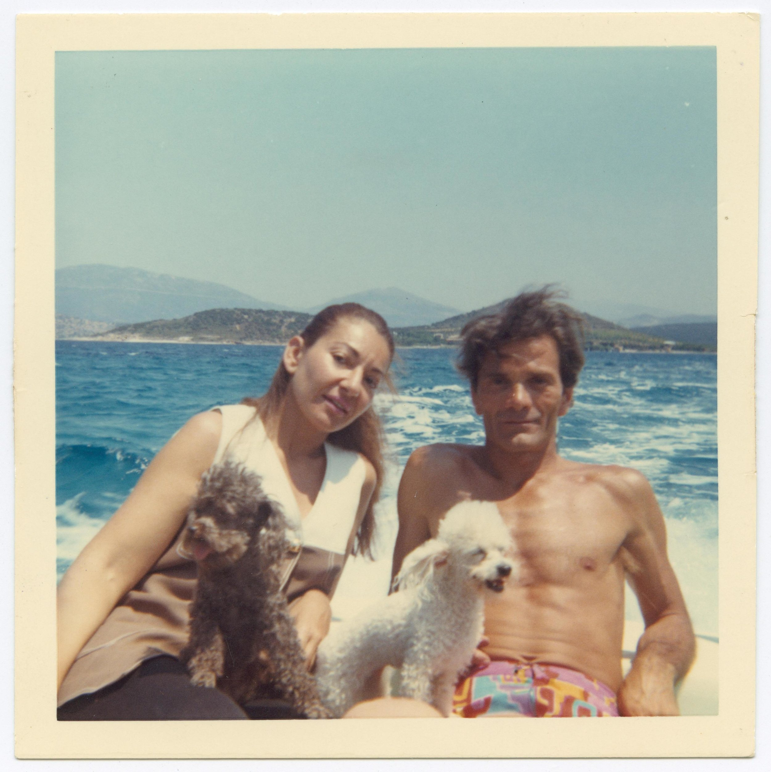 avec Pasolini en vacances en Grece 1970 Copyright Fonds de Dotation Maria Callas.jpg