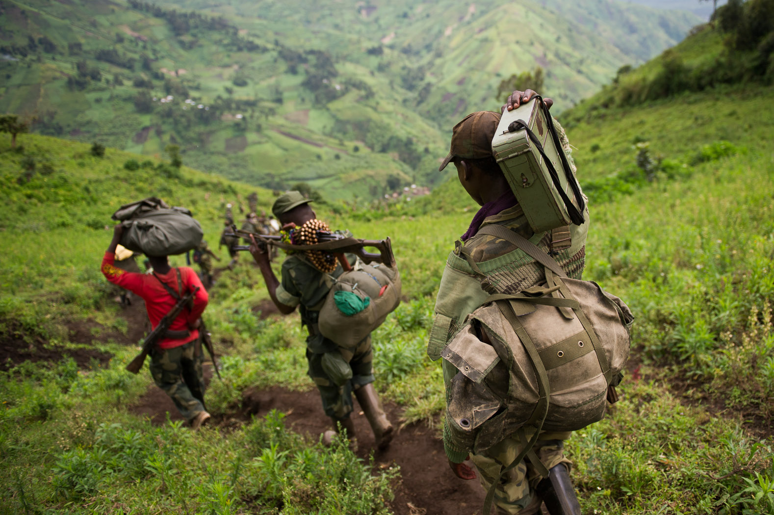 After rebelling from the Congolese national army, taking weapons and ammunition with them, M23 grew into a major rebel movement in eastern Congo's North Kivu province.